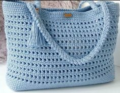 De Croche De Croche barbante De Croche com grafico De Croche de mao De Croche festa - Bolsa De Crochê Crochet Beach Bags, Free Crochet Bag, C2c Crochet, Crochet Tote, Crochet Purses, Crochet Stitches, Crochet Patterns, Drawstring Bag Diy, Crochet Shoulder Bags