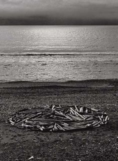 Richard long: Heaven and Earth. British artist. Internationally renowned. Ephemeral materials. Began in 1960s. Drawings with organic materials e.g. mud from river Avon near home.