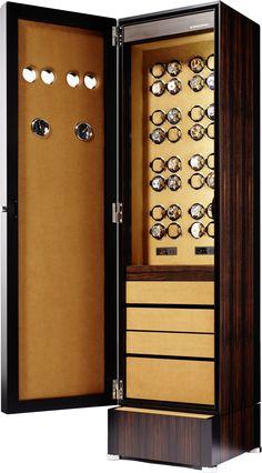 Buben & Zorweg - Collector 32 Deluxe | Macassar Hi-gloss. See more luxury pieces here: http://luxurysafes.me/blog