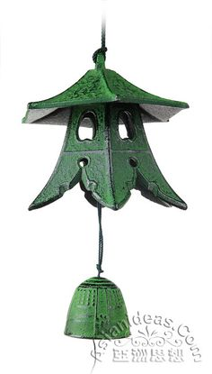 Green Kaku Wind Chime