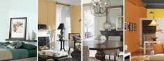 Color Forecast 2015 features 4 color palettes: Chrysalis, Buoyant, Voyage, and Unrestrained. 2015 colormix™ color forecast from Sherwin-Williams.