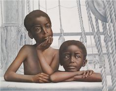 Aaron and Moses by Colin Quashie