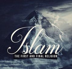 Islam- submission to one God (Allah)
