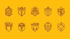 Allegion by Tim Boelaars — Agent Pekka Mark Porter, Typography Design, Logo Design, Modest Proposal, New Land Rover, Creative Review, Branding, Poster S, Pictogram