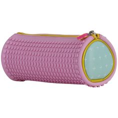 PIXIE CREW Rounded Pencil Case PLUSES/PINK