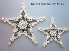Bridgit's Quilling Stern Nr. 14  /  Bridgit's Quilling Star No. 14 (Tutorial)