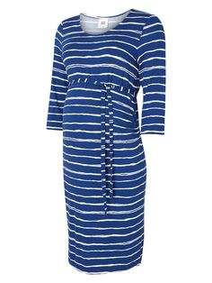 Add some stripes to your maternity 'work-wardrobe' with this beautiful and comfortable jersey dress from MAMALICIOUS.