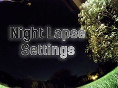 Best GoPro HERO4 Night Lapse Settings.   Read our comprehensive guide for all you need to know about the GoPro Night mode and protune settings for filmming beautiful night lapses. #gopro #filmmaking