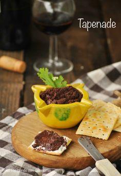 Neus cocinando con Thermomix: Tapenade provenzal de olivas negras