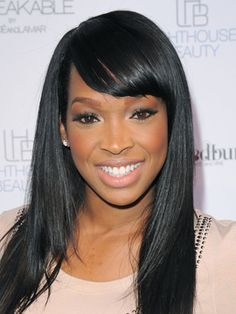 Malika Haqq (born: March 10, 1983, Los Angeles, CA, USA) is an American actress. She is known for Sky High (2005), Keeping Up with The Kardashians (2007) and ATL (2006).