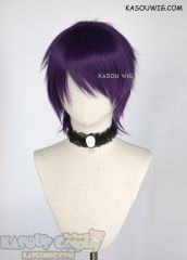 Lace Front Ashe silver white side-parted asymmetric bob shoulder-length cosplay wig Purple Color Code, Purple Wig, Short Choppy Hair, Short Wigs, Cosplay Wigs, Shoulder Length, Asymmetric Bob, Lace, Silver