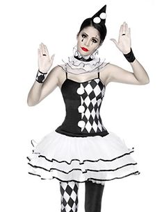 Harlekin Kostüm Fasching Karneval Petticoat-Kleid in Schwarz/Weiß Atixo http://www.amazon.de/dp/B00P26KF2K/ref=cm_sw_r_pi_dp_qdAzwb03JFPYD