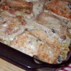 Apple Pork Chop Casserole.