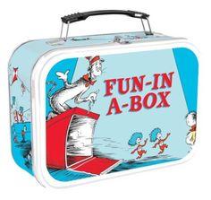 Vandor Large Tin Tote,Dr. Seuss: Amazon.com: Home & Kitchen