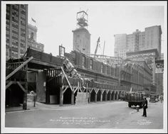 New York. The Death of the Second Madison Square Garden, 26th Street Between Park and Madison Avenues, 1925.