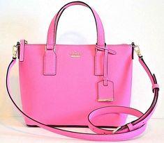 Details about Kate Spade Carli Grove Street Leather Satchel Shoulder Bag  Purse Crossbody New af75f8f68a