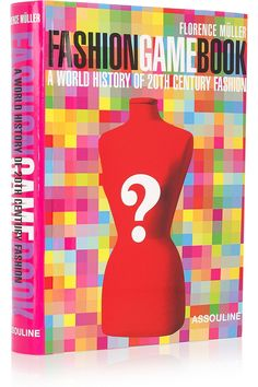 Assouline Books|Fashion Game Book by Florence Muller hardcover book