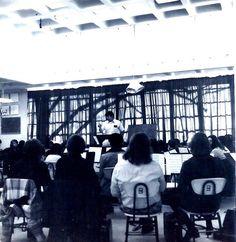 Central High band rehearsal