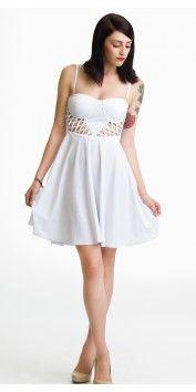 Lady Lattice Dress.