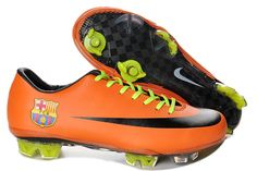80e210ef9 Nike Mercurial Vapor Superfly III FG Boots-Barcelona Soccer Cleats-OrangeBlk  only shipping included.
