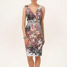Phase Eight Multi-coloured blossom print dress- at Debenhams.com