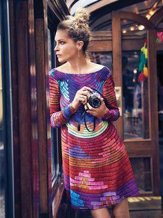 Mara Hoffman Radical Swing Mini Dress at Free People Clothing Boutique