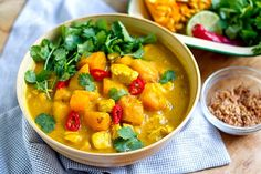 The Easiest Pumpkin Chicken Curry You'll Ever Make
