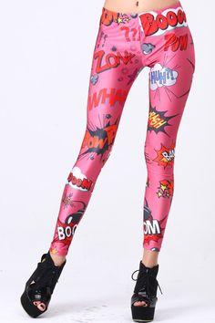Pink Explosion Leggings