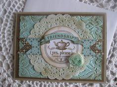 Stampin' Up Handmade Greeting Card Friendship/Any by ConroysCorner, $3.75