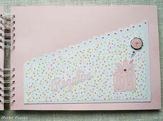 Baby Girl Scrapbook, Mini Scrapbook Albums, Mini Albums, Diy Crafts For Girls, Handmade Books, Book Of Life, Kids Cards, Scrapbooks, Baby Shower