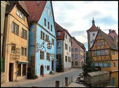 Germany: Bavaria - Rothenburg ob der Tauber