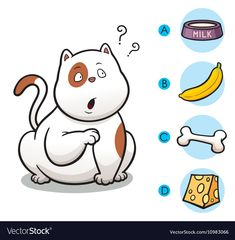 Vector Illustration of make the right choice connect animal with their food - Ca- Toddler Learning Activities, Montessori Toddler, Preschool Activities, Activities For Kids, Kindergarten Addition Worksheets, Kindergarten Worksheets, Micro Creche, Kids Behavior, Kids Education