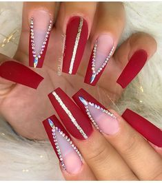 nails, You can collect images you discovered organize them, add your own ideas to your collections and share with other people. Aycrlic Nails, Lace Nails, Xmas Nails, Rhinestone Nails, Prom Nails, Bling Nails, Christmas Nails, Glitter Nails, Coffin Nails