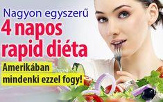 4 napos rapid diéta. Amerikában mindenki ezzel fogy! - Blikk Rúzs Smoothie Fruit, Cellulite, Fat Burning, Rap, Food And Drink, Health Fitness, Weight Loss, Drinks, Sports