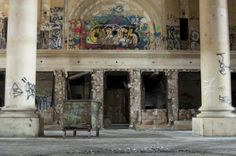 Architectural Photography Michigan Central Station - Ashley Rogow