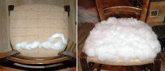 Tuto chaises ou comment retapisser une chaise en paille ou autre... - mes nuits claires Diy Home Decor, Stool, Decoration, Furniture, Chair Makeover, Furniture Ideas, Home Ideas, Decor, Home Furnishings