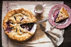 Blueberry Pie Dish & Plate | Flickr