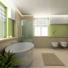 Luxurious and Unique Bathroom Design Ideas Bathroom Renovation, Bathrooms Remodel, Luxury Bathroom, Bathroom Renovations, Modern Bathroom Decor, Bathroom Design, Modern Bathroom, Green Bathroom, Bathroom Decor