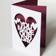amazing thanku cards