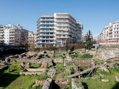 Administrative Complex in the Kyprion Agoniston (Cypriot fighters) Square Thessaloniki, Macedonia, City Photo, Roman, Explore, History, Historia, Fruit Salads, Exploring