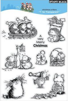 Christmas Critters - Clear Stamps by Penny Black, http://www.amazon.com/dp/B0036US3MS/ref=cm_sw_r_pi_dp_8ERjqb04A4B1X