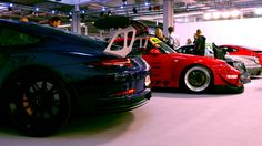 Was browsing my photos and looking for something interesting to practice photo correction. 991.1 GT3RS 993 RWB 964 RWB 991.2 C4 at Warsaw Moto Show. #Porsche #porsche911 #porschelife #cayenne #cars #car