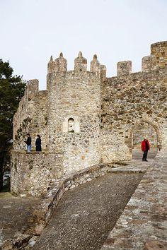 Castillo del Rey en San Vicente de la Barquera.