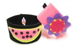 Kids Craft: Summer Fashions Cuffs