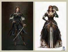 Elise de la Serre concept design - Assassin\'S Creed Unity by Remko Troost | Design | 2D | CGSociety