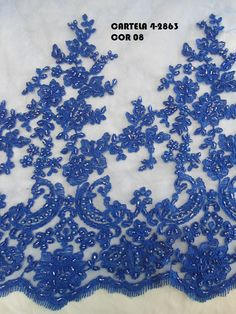 TULE BORDADO PEDRARIA 4-2863 - Tecidos Cassia Nahas