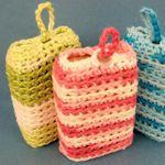 crochet soap holders ellenbloom.blogspot.ca