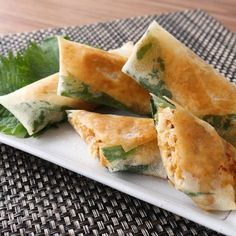 Food Decoration, Spanakopita, Meat, Cooking, Ethnic Recipes, Japanese Food, Oriental Recipes, Recipe, Cooking Food