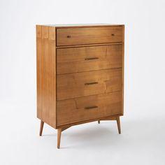 West Elm - Mid-Century 4-Drawer Dresser - Acorn