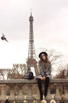 FashionCoolture - 22.02.2016 look du jour Paris Eiffel Tower Slywear lace skirt (6)